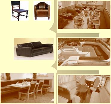 lederdesign s fabrizio polsterei autosattlerei. Black Bedroom Furniture Sets. Home Design Ideas